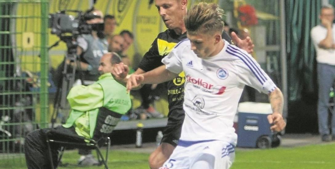 Damian Gąska zdobył pierwszą bramkę w tym sezonie I ligi