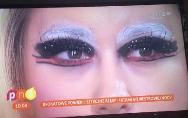 """Sylwestrowy makijaż z """"Pytania na śniadanie"""" stał się hitem internetu"""