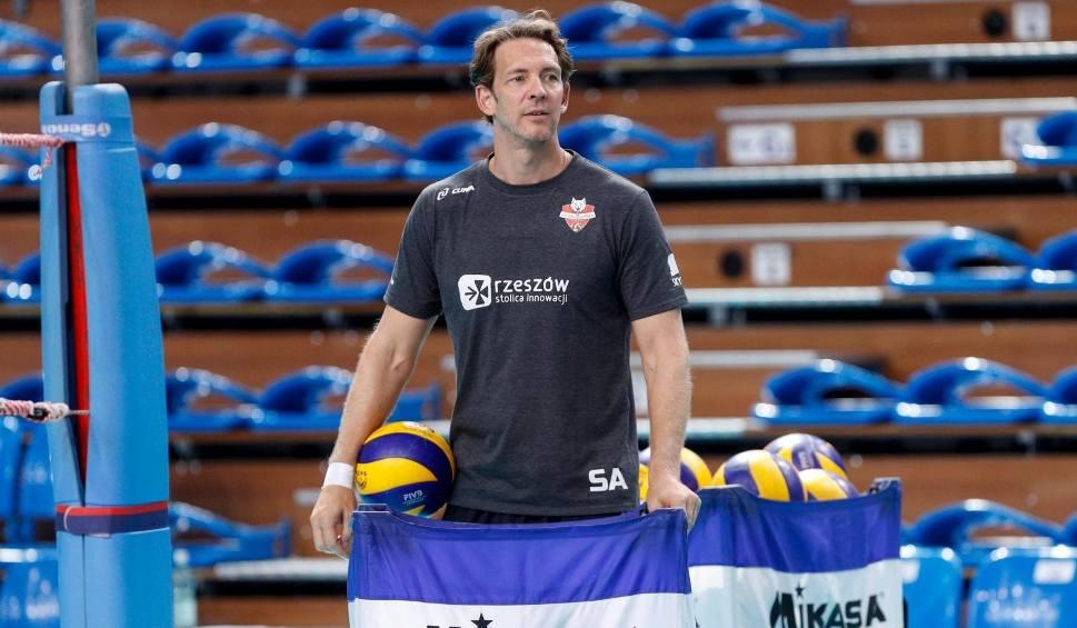 Film do artykułu: Stephane Antiga, trener Developresu po pierwszym treningu z nową drużyną: Było fajnie [WIDEO]