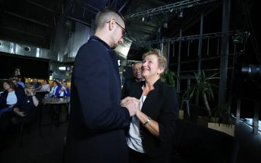 Rodzice Ani Seweryn spotkali się w Katowicach z osobami, które oddały próbki krwi z myślą o ich córce. Ludzie ci dali już szansę na życie 35 innym osobom