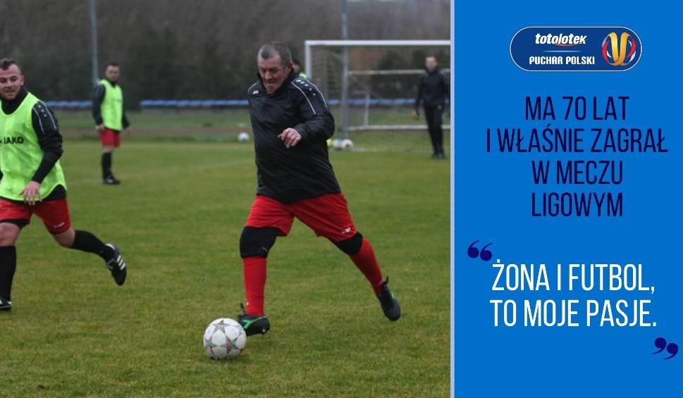 Film do artykułu: Regionalny Puchar Polski: Ma 70 lat i właśnie zagrał w meczu ligowym | Flesz Sportowy24