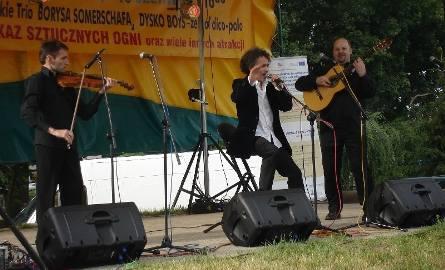 Gwiazdą imprezy było rosyjskie trio Borysa Somerschafa