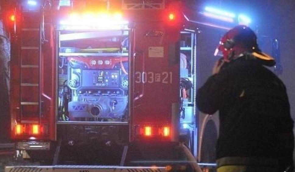 W Wigilię W Bielisze W Gminie Zakrzew Spłonął Garaż W środku Była