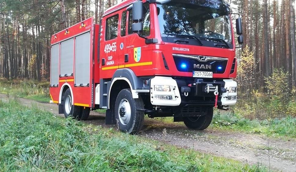 Film do artykułu: Gmina Mirzec. Strażacy z Gadki mają nowy wóz bojowy. Nakręcili o nim film