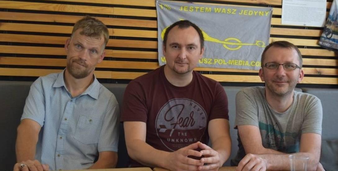 Mariusz Urbanek z kolegami przejedzie wybrzeże morza Bałtyckiego