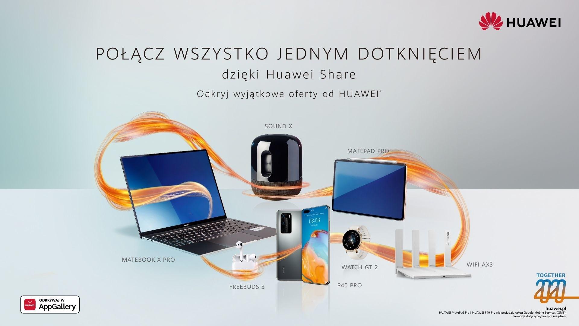 Huawei Toegether