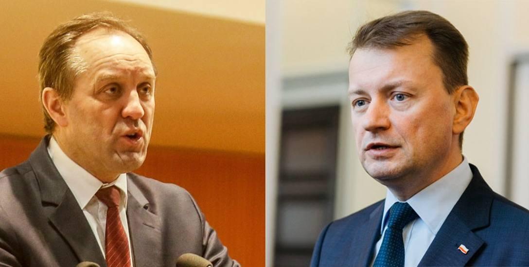 Marszałek Struk: wypowiedź ministra Błaszczaka była bezczelna