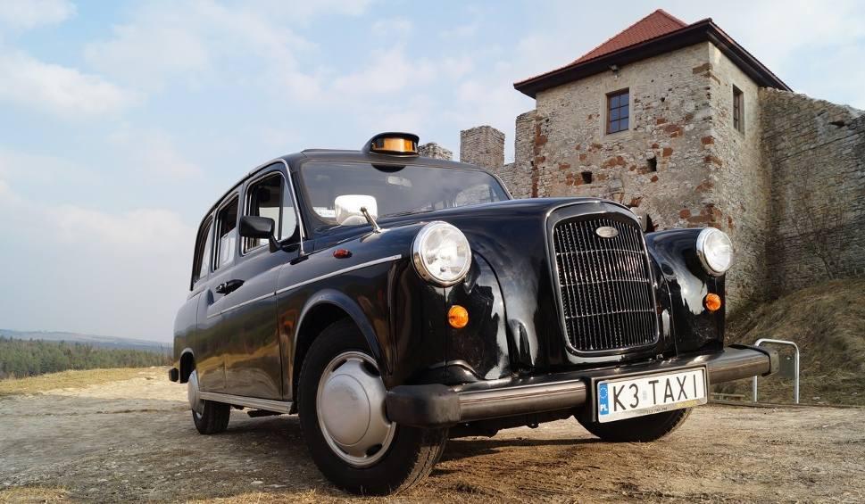 Film do artykułu: Po Olkuszu jeździ czarna taksówka, jak z ulic Londynu. Jedyna taka w Polsce!