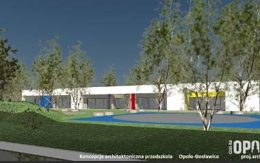 Nowe przedszkole przy ul. Tarnopolskiej w Opolu - wizualizacja