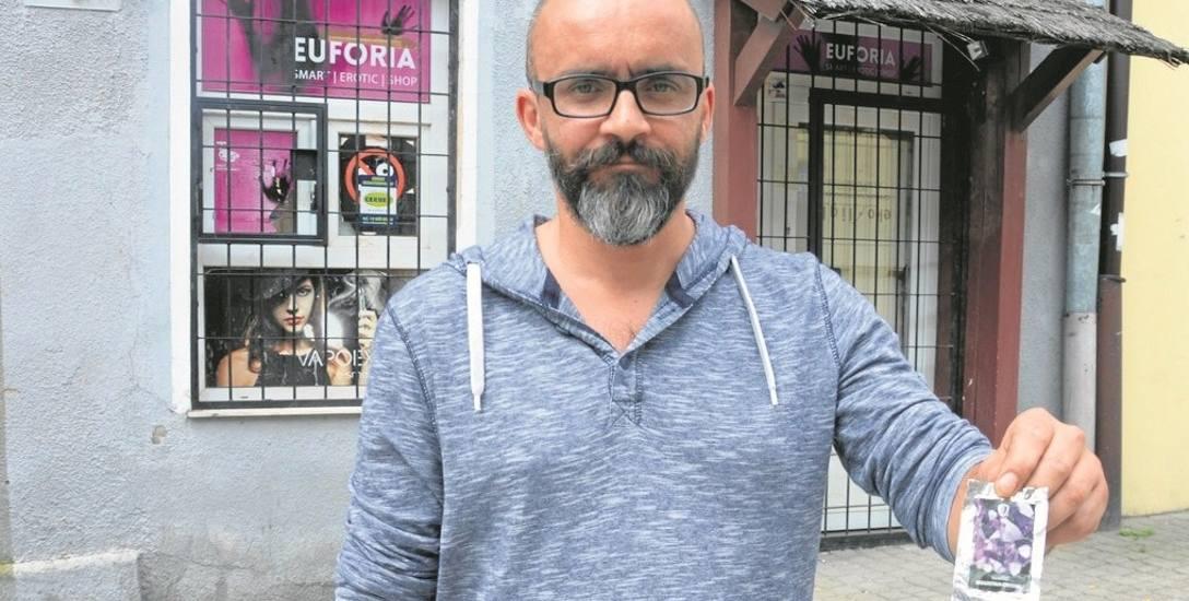 Jerzy Kowalski razem z Radą Osiedla Starówka starają się walczyć z dopalaczami już od dwóch lat
