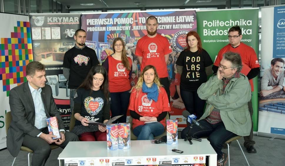 Film do artykułu: WOŚP 2016: Białystok, Wasilków, Uhowo, Łapy, Michałowo, Choroszcz (zdjęcia)