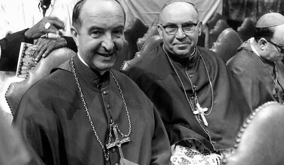 Architekci polsko-niemieckiego pojednania: abp Bolesław Kominek i bp Essen Franz Hengsbach (z lewej)
