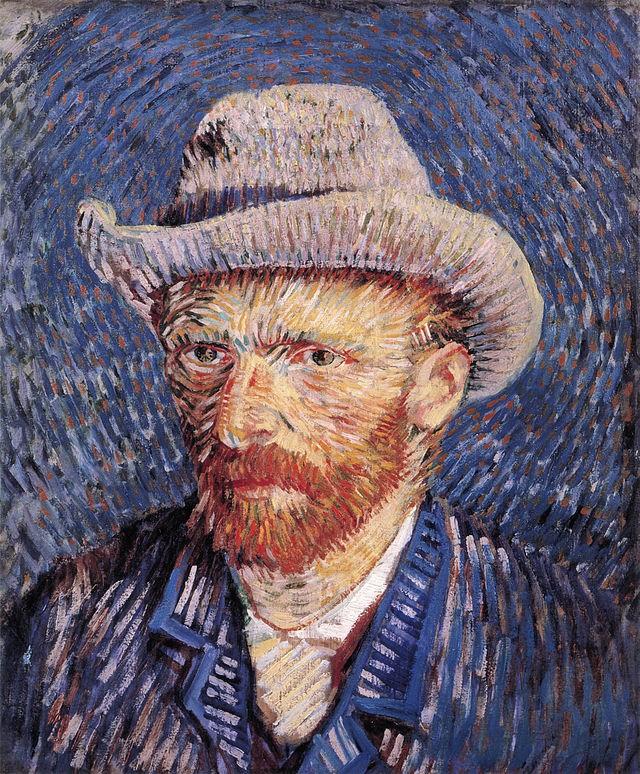 Vincent Van Gogh, Autoportret,  1887