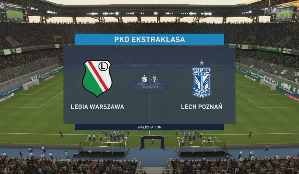 Film do artykułu: Legia Warszawa - Lech Poznań. Klasyk PKO Ekstraklasy w FIFA 20. Jak spisali się wirtualni legioniści i lechici?