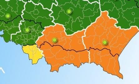 """Intensywne opady, """"pomarańczowy"""" alert dla Małopolski [OSTRZEŻENIE IMGW]"""