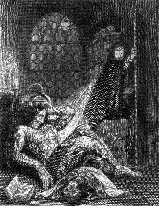 Ilustracja do wydania powieści z 1831 roku