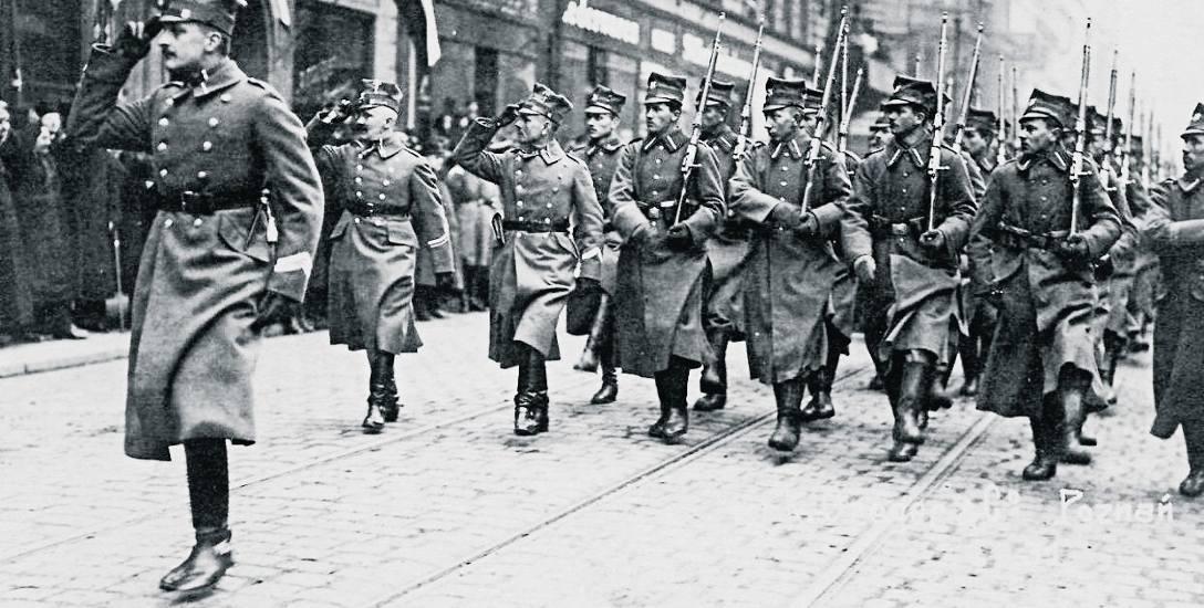 Defilada wojsk wielkopolskich w Poznaniu