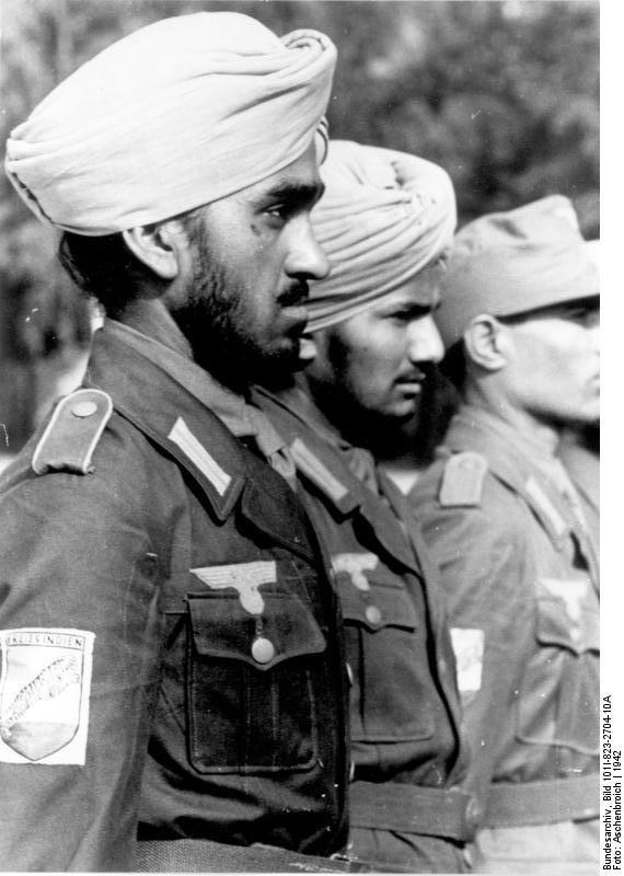 Żołnierze Ochotniczego Legionu Hinduskiego [1]