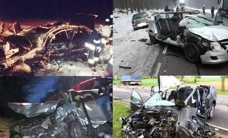 W woj. podlaskim najwięcej wypadków dochodzi na drogach krajowych: 8, 19 i 65
