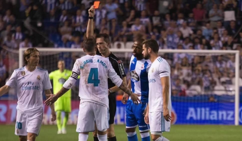 Film do artykułu: Sergio Ramos ukarany 23. czerwoną kartką w karierze