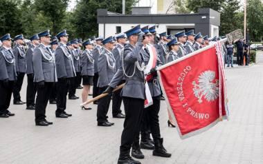 Uroczyste obchody Święta Policji odbyły się na terenie komisariatu nr 1 przy ul. Dziewulskiego 21 lipca 2021 roku. Była to także okazja do wręczenia