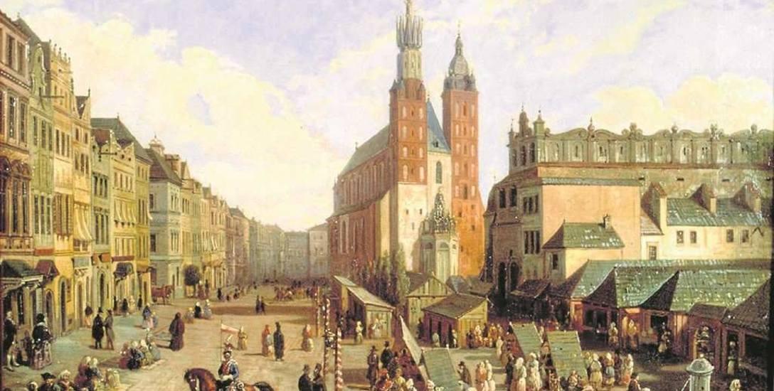 Marcin Zaleski, Kramy, jatki, stragany i budy wokół Sukiennic na Rynku Głównym w I połowie XIX stulecia