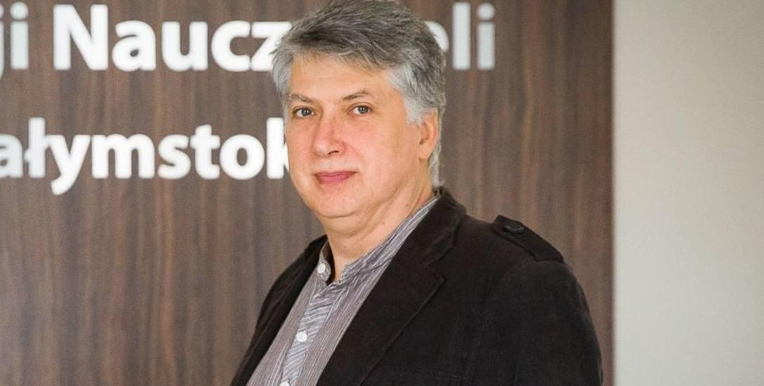 Artur Brzeziński z Pracowni Psychoterapii i Psychoedukacji Integra w Białymstoku