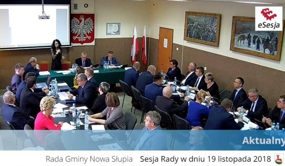 Film do artykułu: Pierwsza sesja Rady Gminy Nowa Słupia. Zaprzysiężenie wójta Andrzeja Gąsiora. Jerzy Roman został przewodniczącym