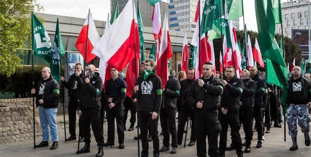 Marsz ONR w Częstochowie