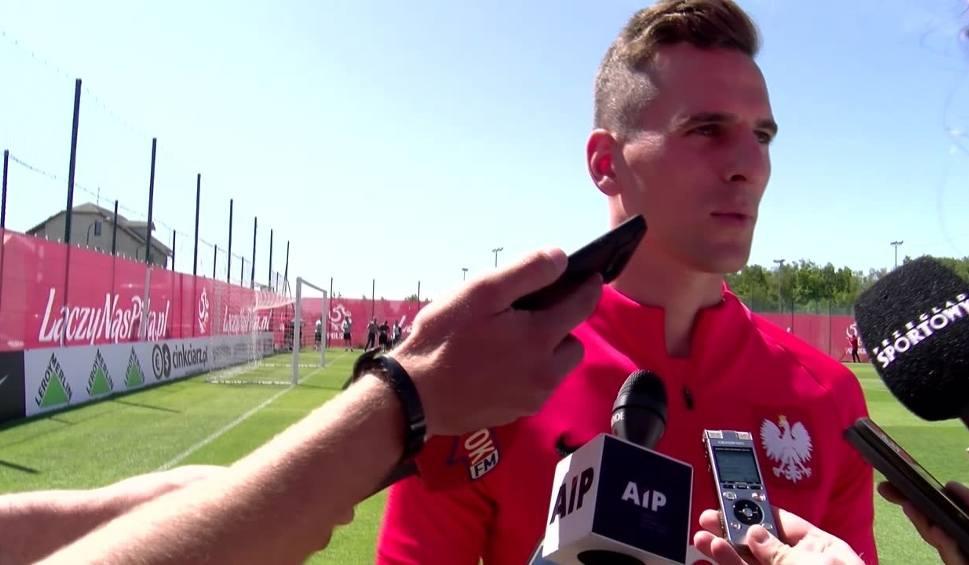 Film do artykułu: Arkadiusz Milik: Cieszymy się, że zagramy na mundialu. To było nasze marzenie nasz cel
