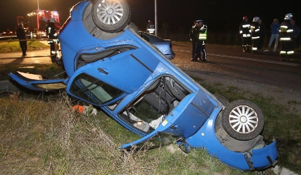 Film do artykułu: Wypadek w gminie Górno. Ranne trzy kobiety