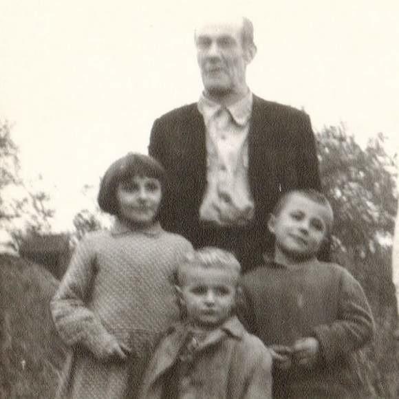 Antoni Cupryś z dziećmi