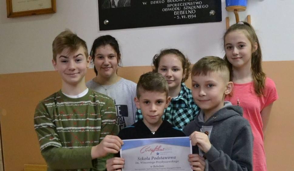 Film do artykułu: Wiarygodna szkoła - placówka oświatowa z Bebelna z certyfikatem