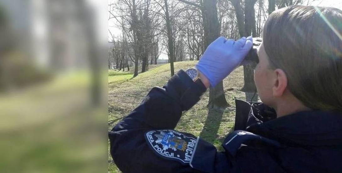 Policjanci z Opolszczyzny sprawdzają, jak ludzie przestrzegają nowych, zaostrzonych przepisów związanych z pandemią koronawirusa.