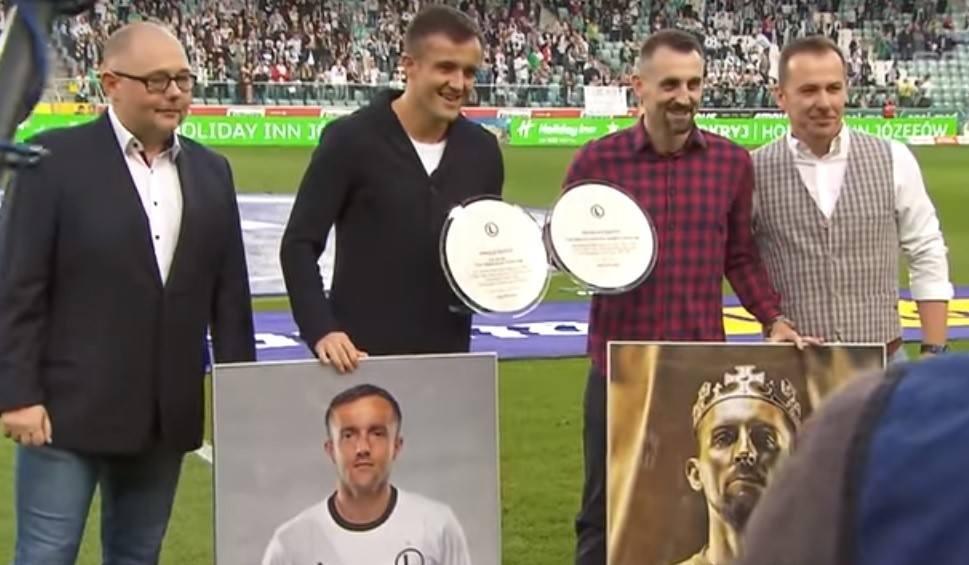 Film do artykułu: Legia Warszawa podziękowała zasłużonym piłkarzom. Kucharczyk: Na pewno tu wrócę