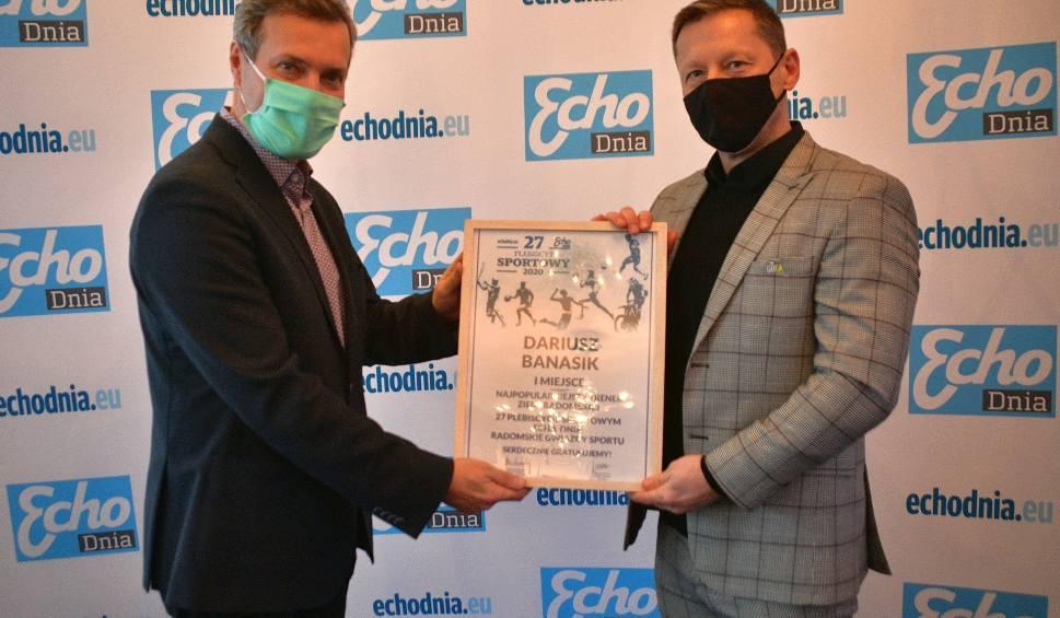 Film do artykułu: 27 Plebiscyt Sportowy Echa Dnia! Dariusz Banasik drugi raz najpopularniejszy wśród trenerów (WIDEO)
