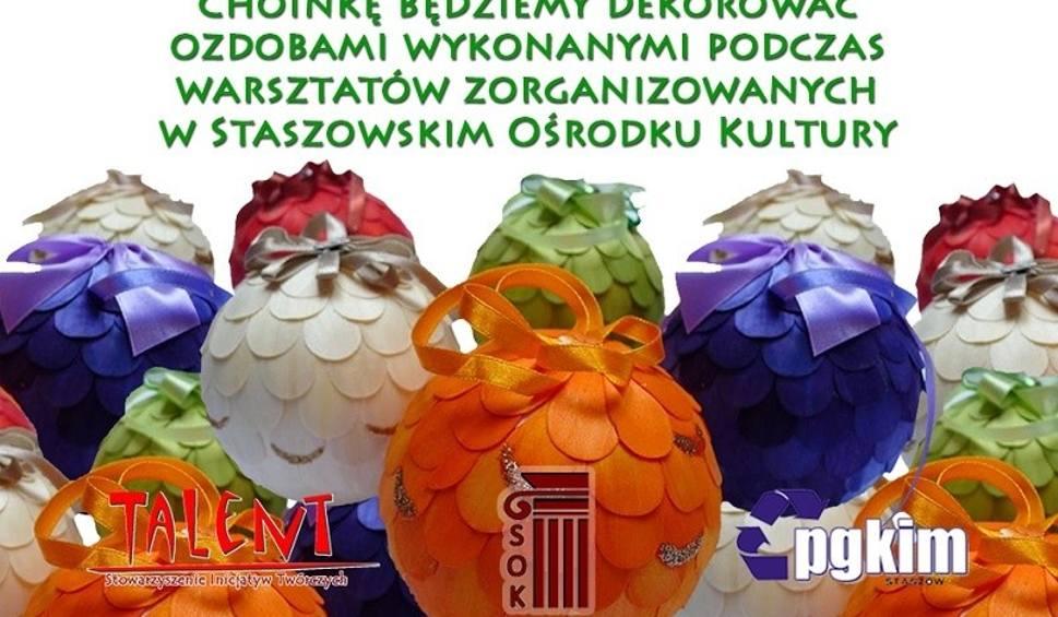 Film do artykułu: Wspólne ubieranie choinki na staszowskim rynku już 16 grudnia. Władze miasta i ośrodek kultury zapraszają wszystkich