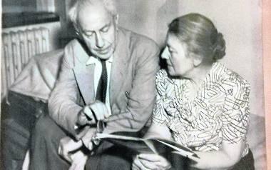 Prof. Ludwig Hirszfeld i jego żona Hanna Hirszfeld