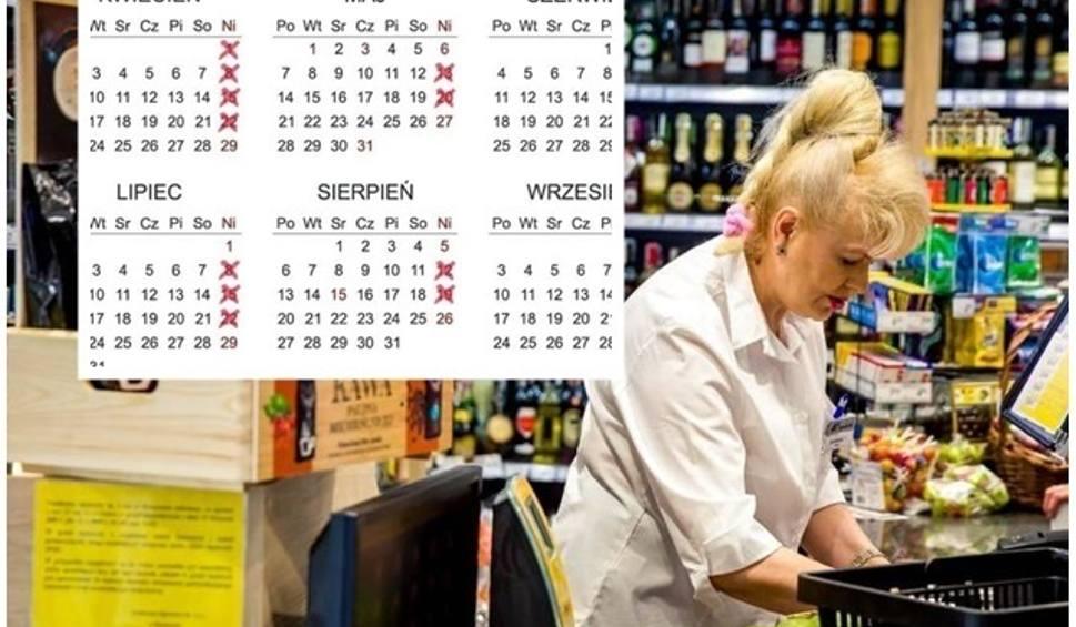 Film do artykułu: NIEDZIELE HANDLOWE: LIPIEC 15.7.2018 Wykaz niedziel handlowych + KALENDARZ. W które niedziele sklepy są otwarte