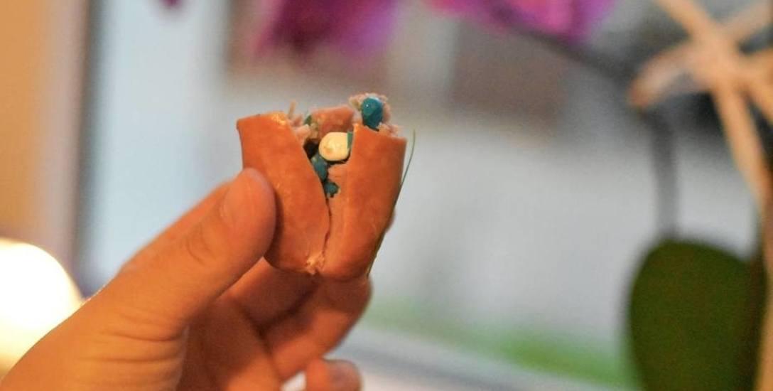 Tym razem na osiedlu Tysiąclecia zamiast gwoździ i szpilek w kiełbasie znalazłam kilka tabletek. Uważajcie proszę na swoje psy - napisała w minioną środę