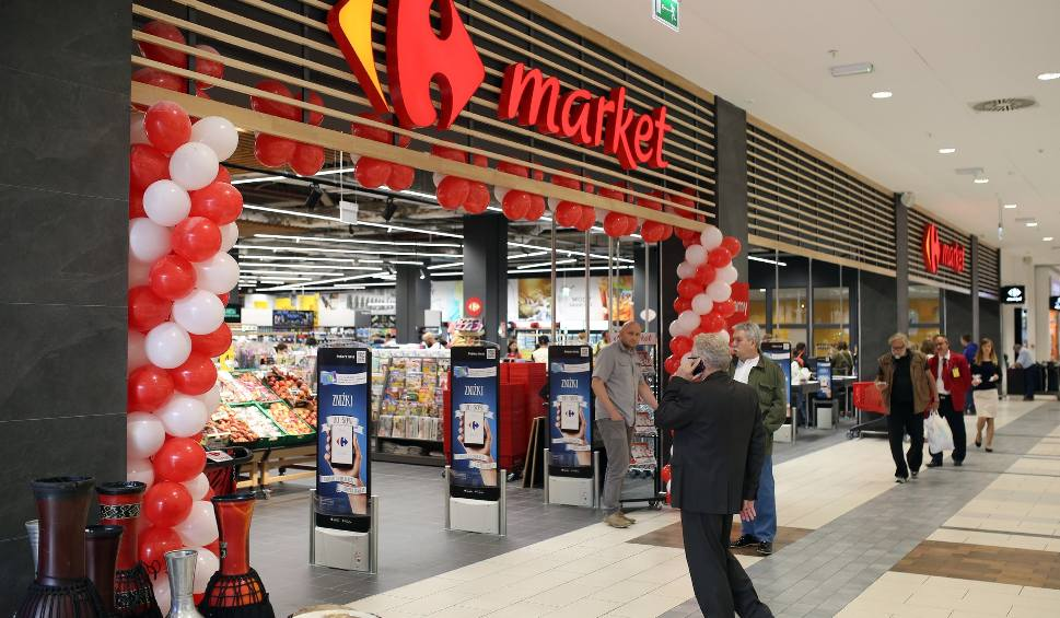 Film do artykułu: Supermarket Carrefour premium w Galerii Kazimierz otwarty! [ZDJĘCIA]