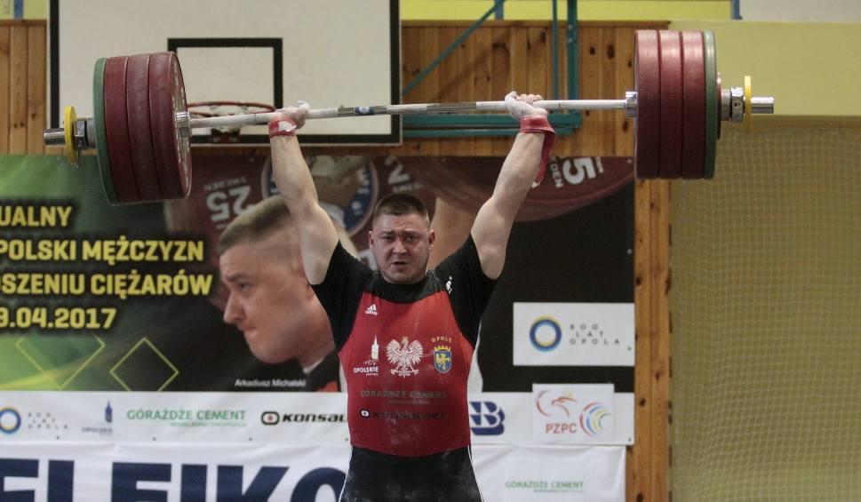 Film do artykułu: Podnoszenie ciężarów. Arkadiusz Michalski z Budowlanych Opole medalistą mistrzostw świata