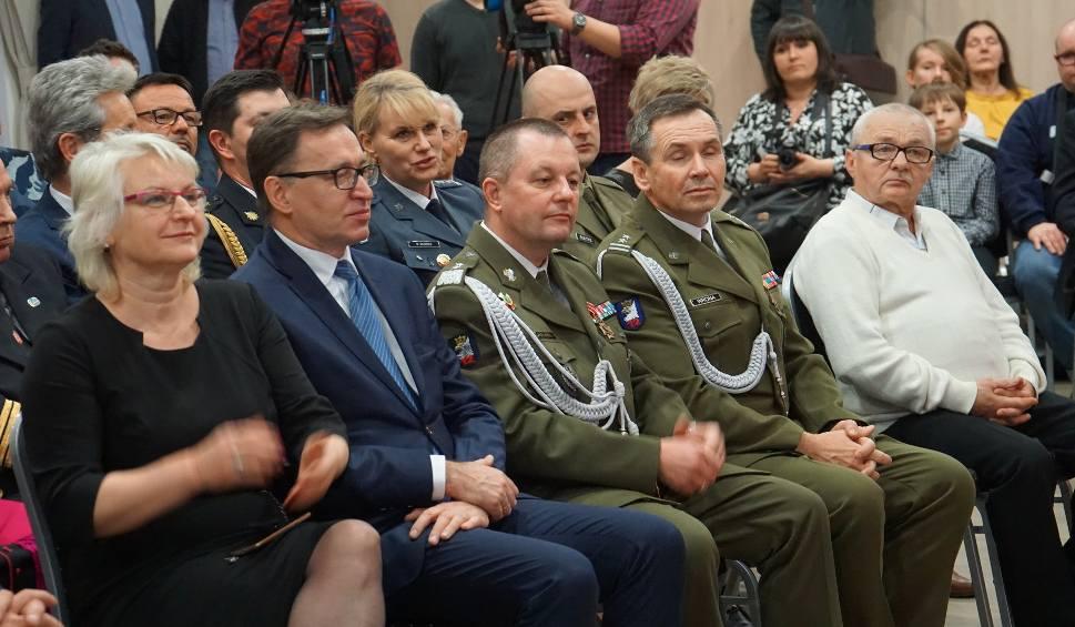 Film do artykułu: Stanisław Matuła i Marian Gapiński z Kostrzyna odznaczeni za walkę z komunizmem [ZDJĘCIA]