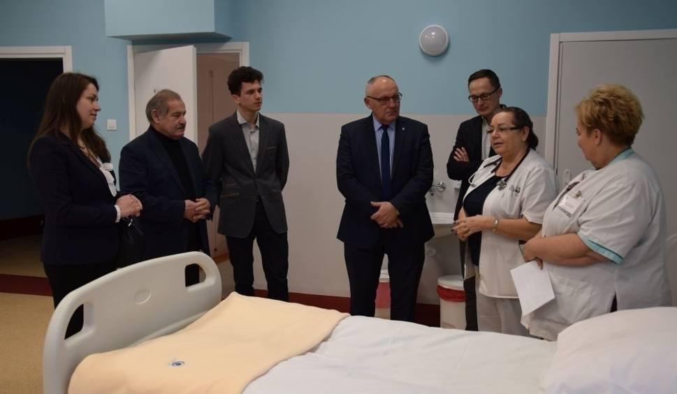 Film do artykułu: Delegacja powiatu kozienickiego w szpitalu w Świeciu zarządzanym przez Nowy Szpital Holding S.A.