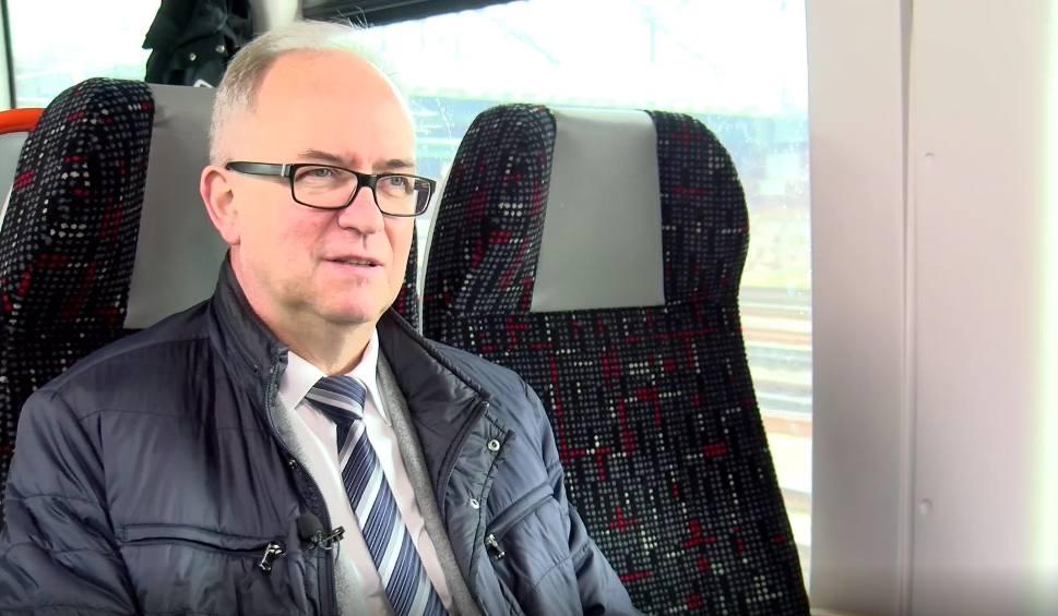 Film do artykułu: Kolej na... Rozmowy na trasie PKM. Prof. Jerzy Gwizdała, rektor UG, o studiowaniu w Gdańsku [WIDEO]