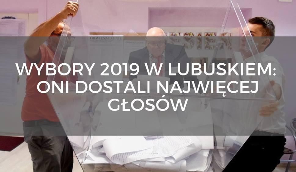 """Film do artykułu: Wybory parlamentarne 2019 w Lubuskiem. Oni """"pozamiatali"""" na lubuskich listach wyborczych do sejmu. Kto dostał najwięcej głosów? [LISTA]"""