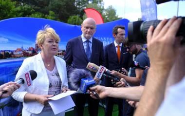 O strefie kibica poinformowano wczoraj podczas konferencji prasowej przed Areną Toruń przy ul. Bema