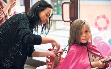 Mama Ani wybrała salon Ciach Ciach, który specjalizuje się w strzyżeniu najmłodszych