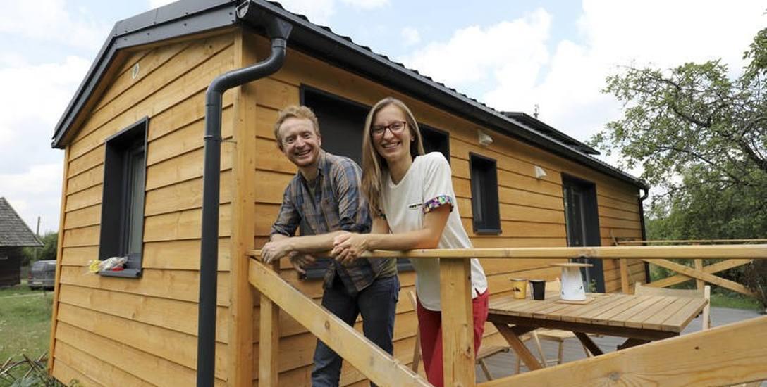 Podróżnicy Magda i Piotr związali swoje życie z Puszczą Knyszyńską. Teraz mają szansę na  nagrodę