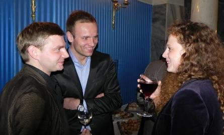 """Polscy aktorzy (od prawej): Ania Antonowicz, Maciej Mikołajczyk (gra w """"Linczu"""") i Rafał Zawierucha (gra w """"Księstwie""""). Ten ostatni ma ciocię w Łężycy,"""